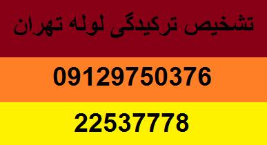 تشخیص ترکیدگی لوله بادستگاه تهران