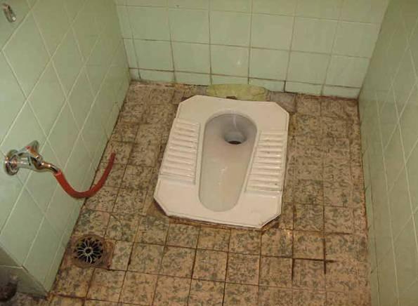 تعمیر سیفون توالت ایرانی